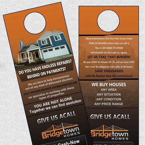 Door Hanger Modern Trendy Marketing Price Will Be Guaranteed Early Once I Have Some Good Designs Postcard F Door Hanger Printing Cool Designs Contest Design