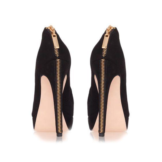 Kurt Geiger… Love the zip detail - Find 150+ Top Online Shoe Stores via http://AmericasMall.com/categories/shoes.html