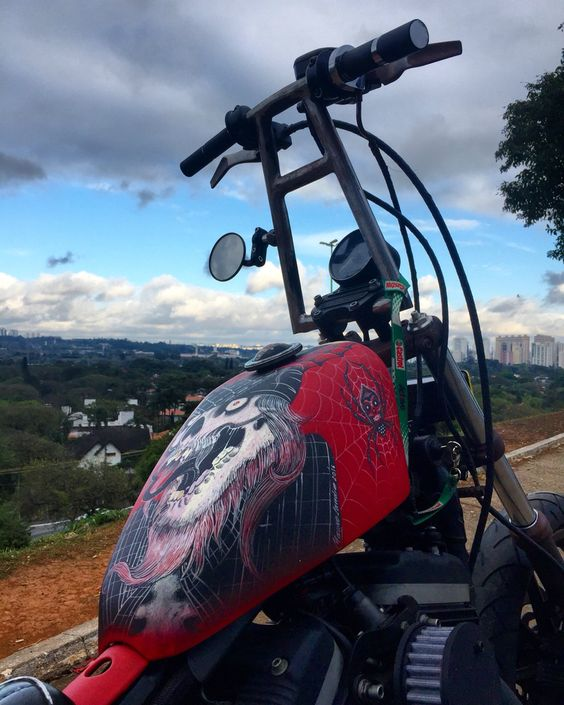 Harley Davidson 883 R Custom Made