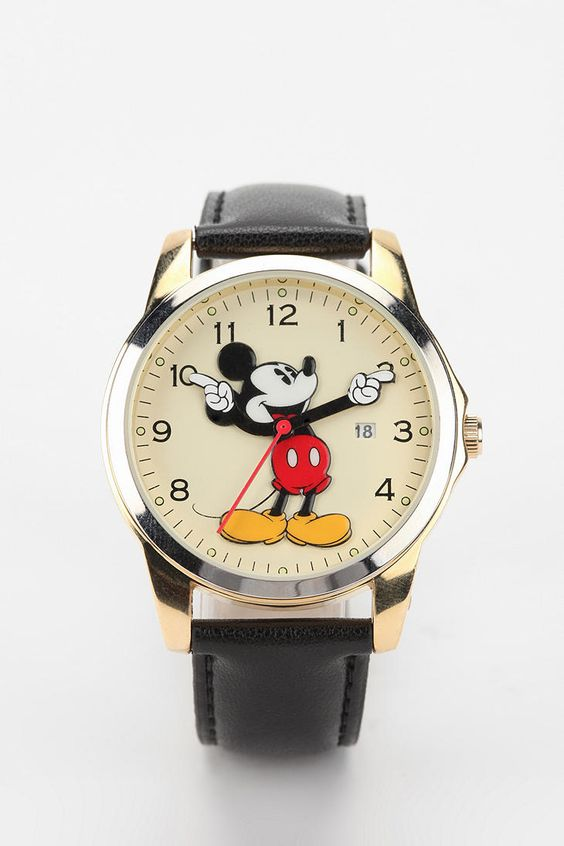 Oversized Mickey Mouse Watch #urbanoutfitters