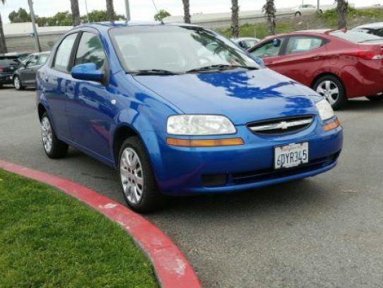 Sedan 2006 Chevrolet Aveo Ls With 4 Door In Riverside Ca 92504 Chevrolet Aveo Chevrolet Buy Used Cars