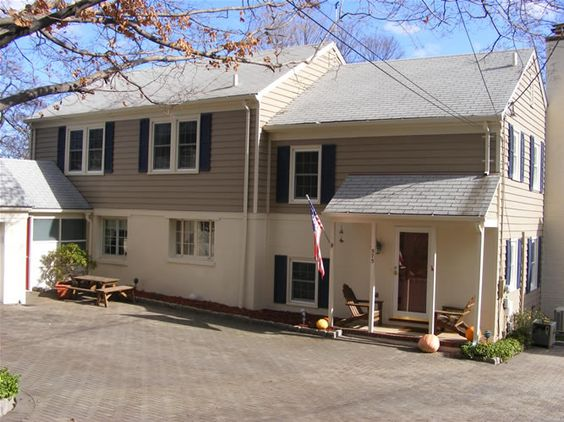 Exterior colors home and colors on pinterest - How to paint a 2 story house exterior ...