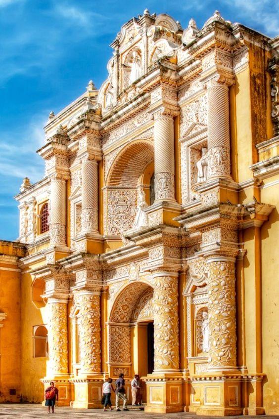 Iglesia del convento de la Merced Antigua, Guatemala.