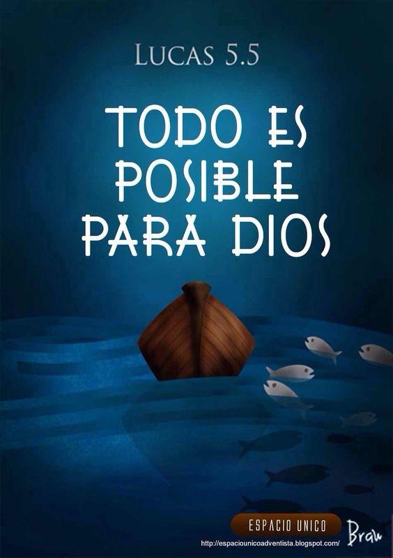 Todo es posible para Dios: