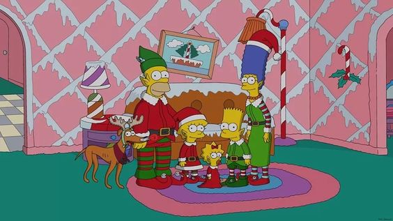 Simpsons Christmas | Movies/TV I Like - photos, posters or ...