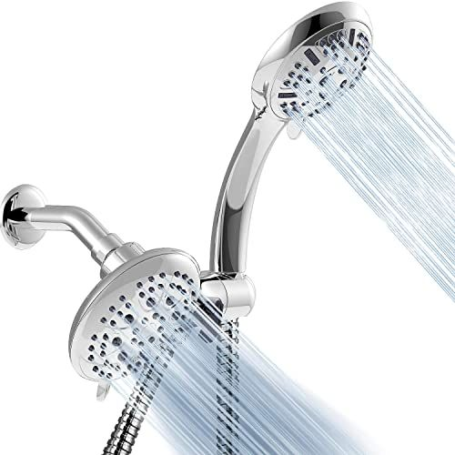 New Apthrill 3 Way High Pressure Shower Head Combo 9 Spray