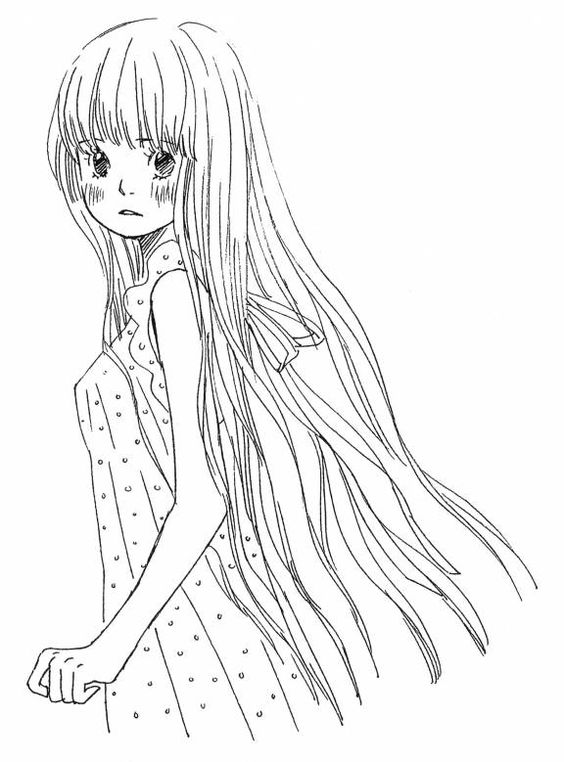 beautiful anime coloring pages to print beautiful anime coloring pages to print da colorare