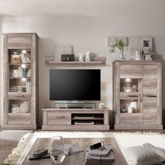 montreal-living-room-furniture-set-in-canyon-oak-with-led-light ...