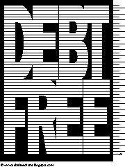 this site has great charts for paying off debt or saving for down payments, vacations, cars, etc... Debt Free Charts: Debt Free Chart