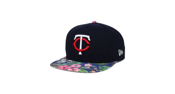 New Era Minnesota Twins Tropic Time 9FIFTY Snapback Cap