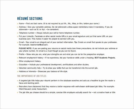 40 Combination Resume Template Word In 2020 With Images Resume