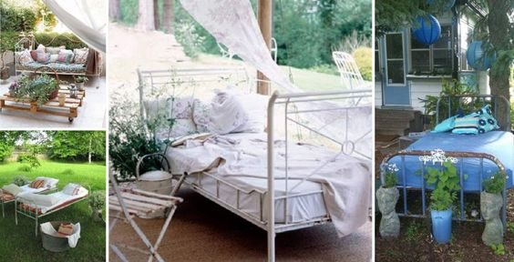 Rosa lilás | Põe a cama no jardim! | http://rosalilas.net