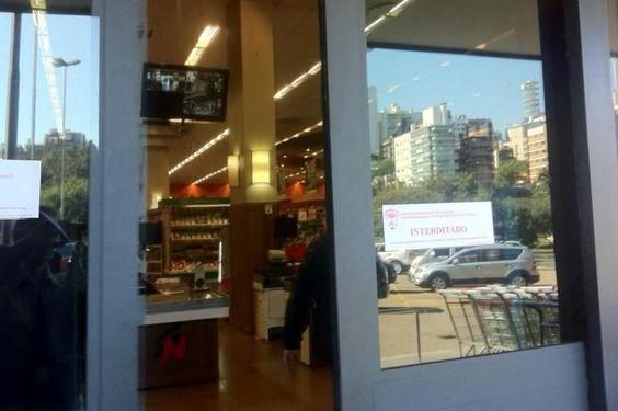 Procon fecha dois supermercados da rede Nacional em Porto Alegre Erik Farina/Agencia RBS