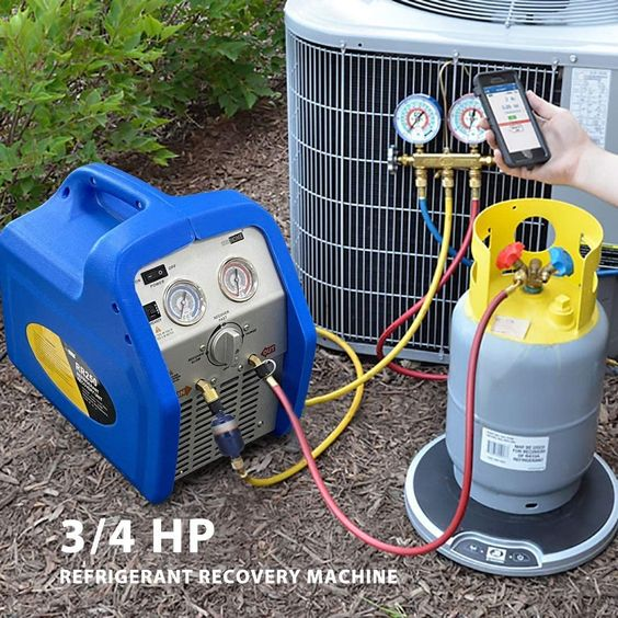 Vivohome 110 120v Ac 60hz 3 4hp Single Cylinder Portable Refrigerant Recovery Machine Recovery Machine Best
