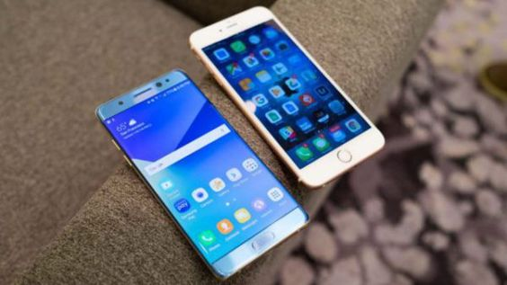 Mobile : Galaxy Note 7 vs iPhone 6S test de vitesse