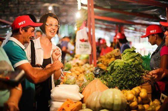 Centro ganha loja de orgânicos produzidos por assentados do MST