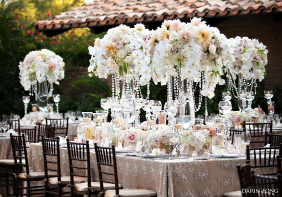 Love these centerpieces.