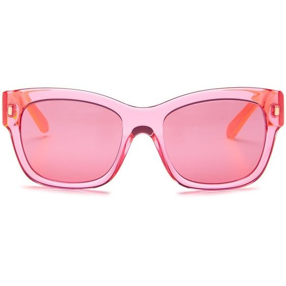 Kate Spade Tortoise Shell Glasses Frames : kate spade new york Womens Tahira Sunglasses (USD60) liked ...
