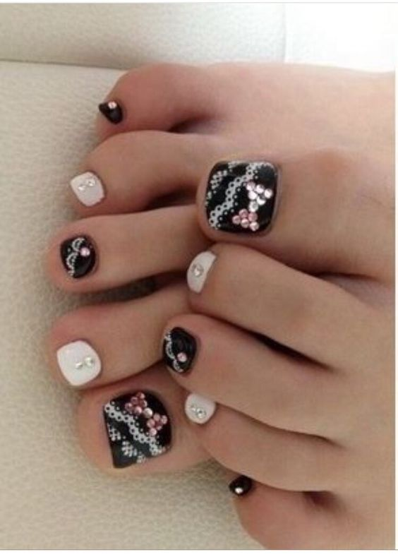 here some beautiful toe nails designsif you find it useful then please like follow me for more tips thank you pinterest beautiu2026