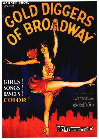 """Gold Diggers of Broadway"" directed by Roy Del Ruth / highest grossing film in 1929"