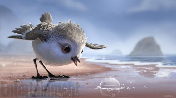 We're in Love with PIPER, Pixar's Newest Animated Cutie