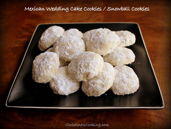 Mexican Weddings Snowball And Mexican Wedding Cake Cookies On Pinterest