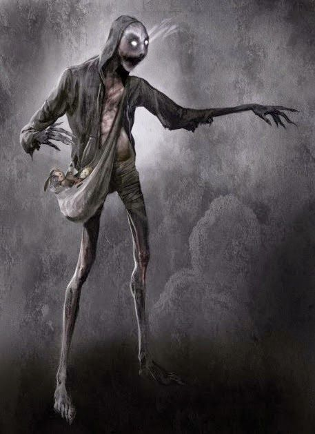Mètminwi (The slenderman from old Haitian legends)