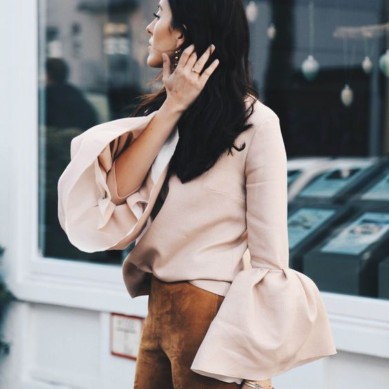 Fashion Inspiration -- Style Guide   Spring 2016 Trend: (Really) Big Sleeves -- a slideshow compilation of one of this spring's hottest trends