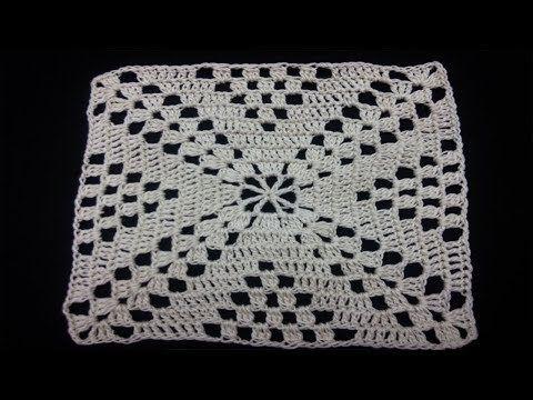 Como Hacer Cuadros Tejidos A Crochet Youtube Cojines De Ganchillo Cuadros A Crochet Cuadrados De Ganchillo