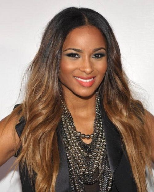 Hair Color For Dark Skin Pinterest