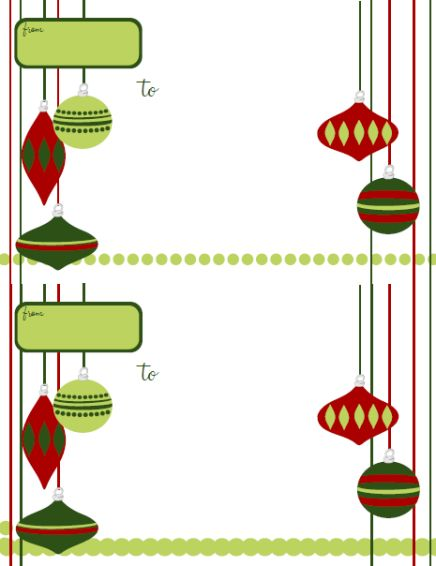 Holiday Labels Holiday Label Templates Free Printable – Free Christmas Mailing Labels Template
