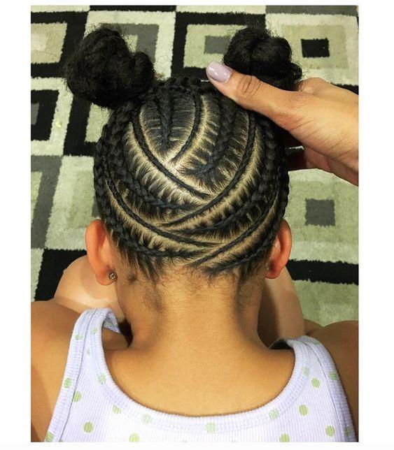 Awe Inspiring Cornrows Black Hair And Natural Hair On Pinterest Short Hairstyles Gunalazisus