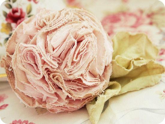 Making Cotton Flowerz <3