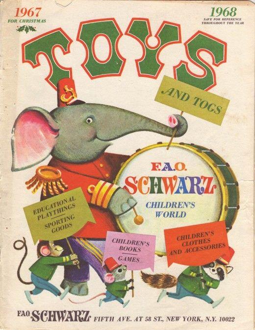 FAO Schwartz 1967 toy catalog