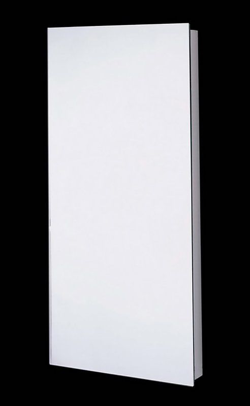 Autryville Surface Mount Recessed Frameless Medicine Cabinet With