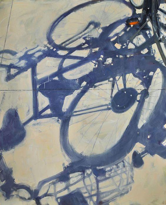 Bike Shadow by Duane Keiser:
