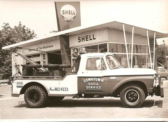 1965 Ford F350 Tow Trucks From The Past Pinterest Ford