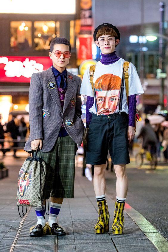 Tokyo'daki sokak stili başka bir seviyede.  En son kapsamımızı burada görün.