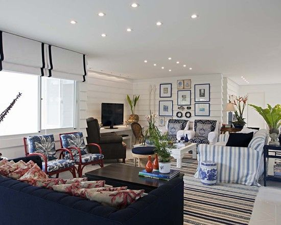 Spaces Nautical Living Room Ideas Design, Pictures, Remodel, Decor and Ideas - page 2