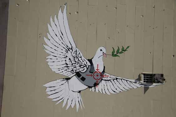 banksy-graffiti-street-art-peace-dove: