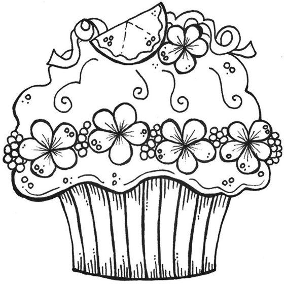 kuchenschranke farben : cupcake Digis/Coloring Pinterest F?rben, Geburtstag Cupcakes ...