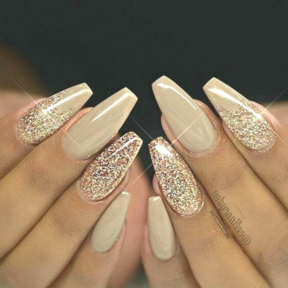 Acrylic Nails For Prom Champagne Personalised Prom Champagne Flutes Prom Gifts Prom Accessories Personalised Ch Gold Nail Designs Sparkle Nails Nail Designs
