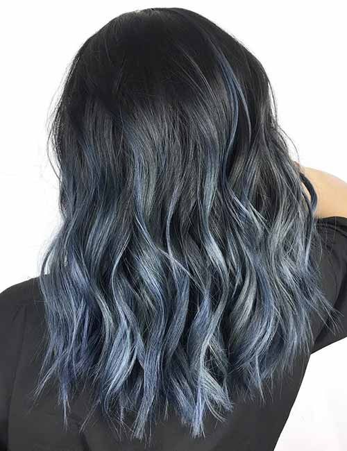 20 Beautiful Styling Ideas For Blue Ombre Hair Blue Ombre Hair Short Ombre Hair Ombre Hair Blonde