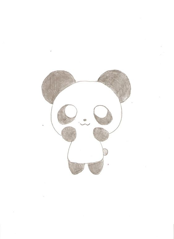 Cute panda drawings tumblr hvgj beautiful cartoons for Pretty things to draw easy