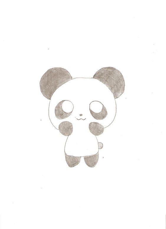 Dessin de panda, Pandas and Dessins on Pinterest - photo#18