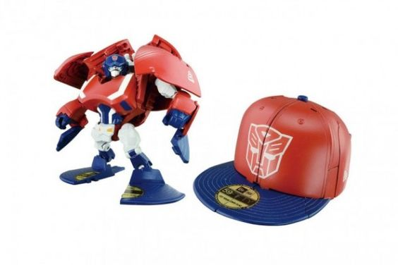 "Takara Tomy x New Era's ""Transformers Cap Bots""  on http://www.drlima.net"