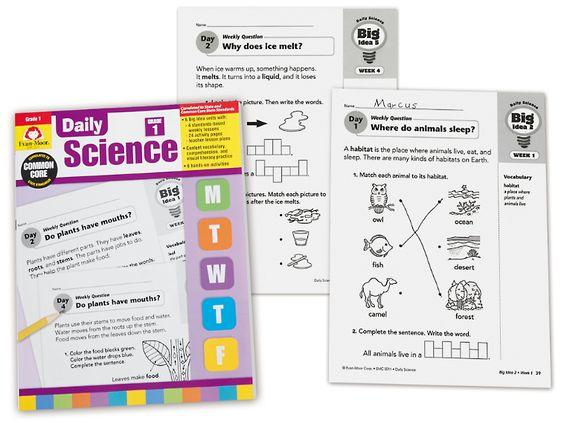 Daily Science Activities - Grade 1