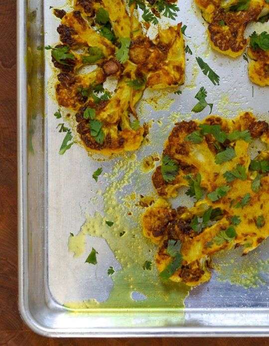 Recipe: Cauliflower Steaks with Ginger, Turmeric, and Cumin Recipes from The Kitchn | The Kitchn