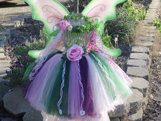 Fairy tutu set Woodland Fairy set includes by TinasOnceUponATutu, $75.00~ Love this one, but the tutu might be too wide