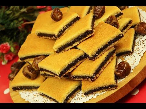 معمول المد بالتمر طعمة ولا اروع معمول السميد بالتمر كعك العيد مع رباح محمد الحلقة 672 Youtube Maamoul Recipe Food Eid Cake